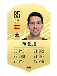 FIFA 21 Top 10 Best Free Kickers Players Averages and Ratings parejo