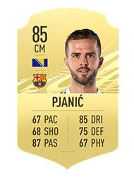 FIFA 21 Top 10 Best Free Kickers Players Averages and Ratings pjanic