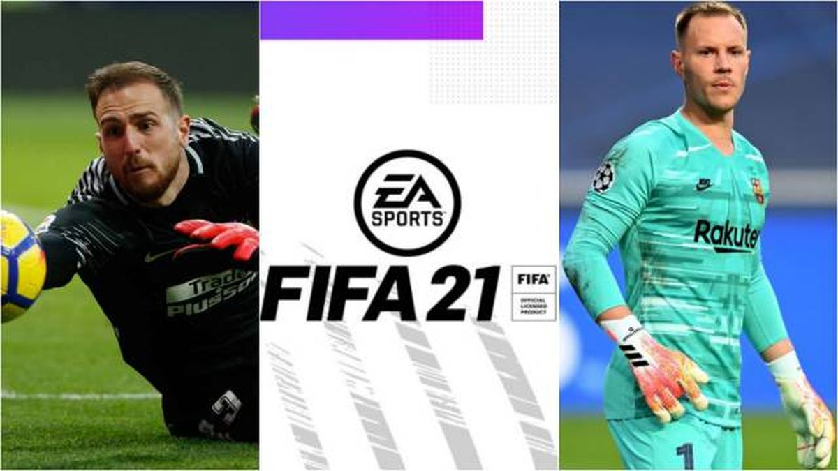 FIFA 21 Top 10 Goalkeepers - Average and rating