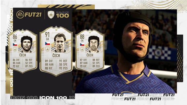 FUT Icons in FIFA 21 ALL new cards and a complete list of icons Cech