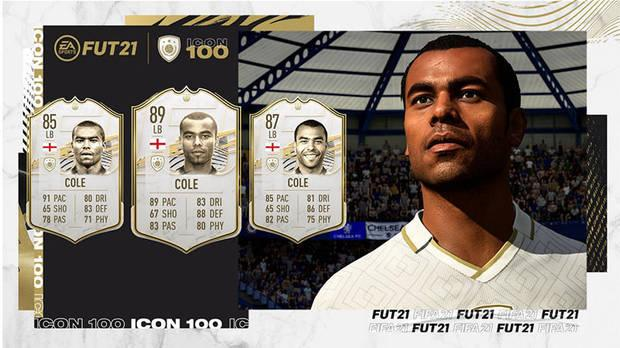 FUT Icons in FIFA 21 ALL new cards and a complete list of icons Cole