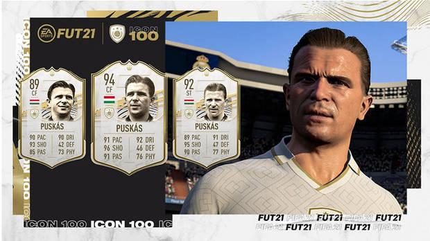 FUT Icons in FIFA 21 ALL new cards and a complete list of icons Puskas