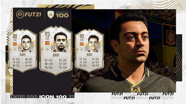 FUT Icons in FIFA 21 ALL new cards and a complete list of icons Xavi