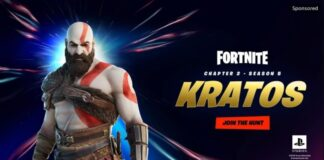 Kratos from God of War comes to Fortnite as a skin