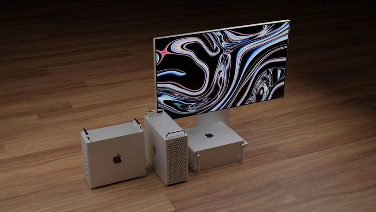 Mac Pro with Apple Silicon processors would be much smaller