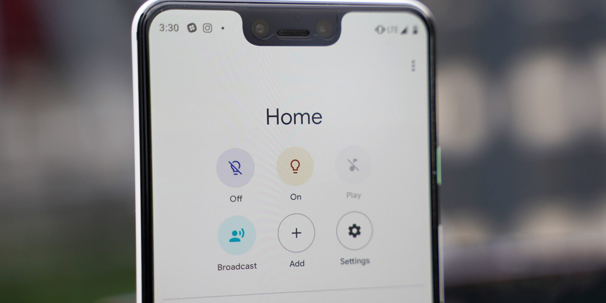 google home app starts showing apps