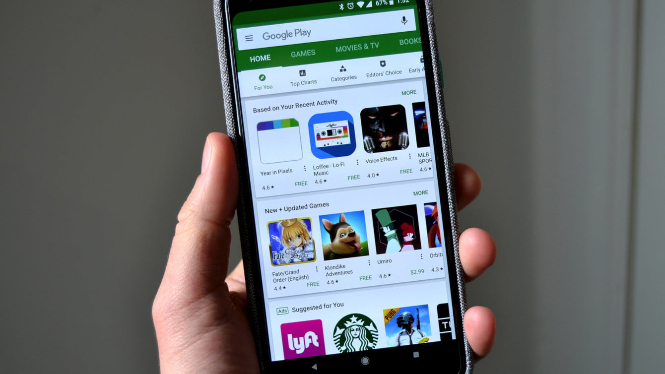 How to change the country in the Google Play Store?