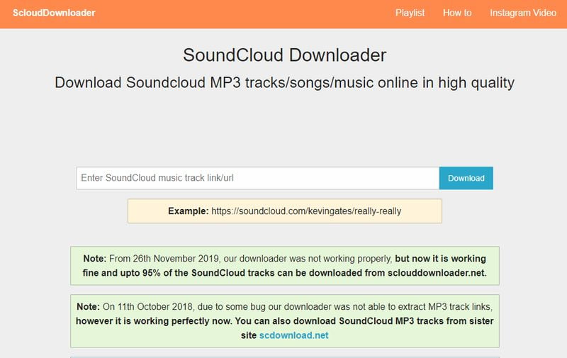 How to download music from Soundcloud to MP3?