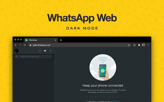 Dark mode and stickers finally come to Whatsapp Web