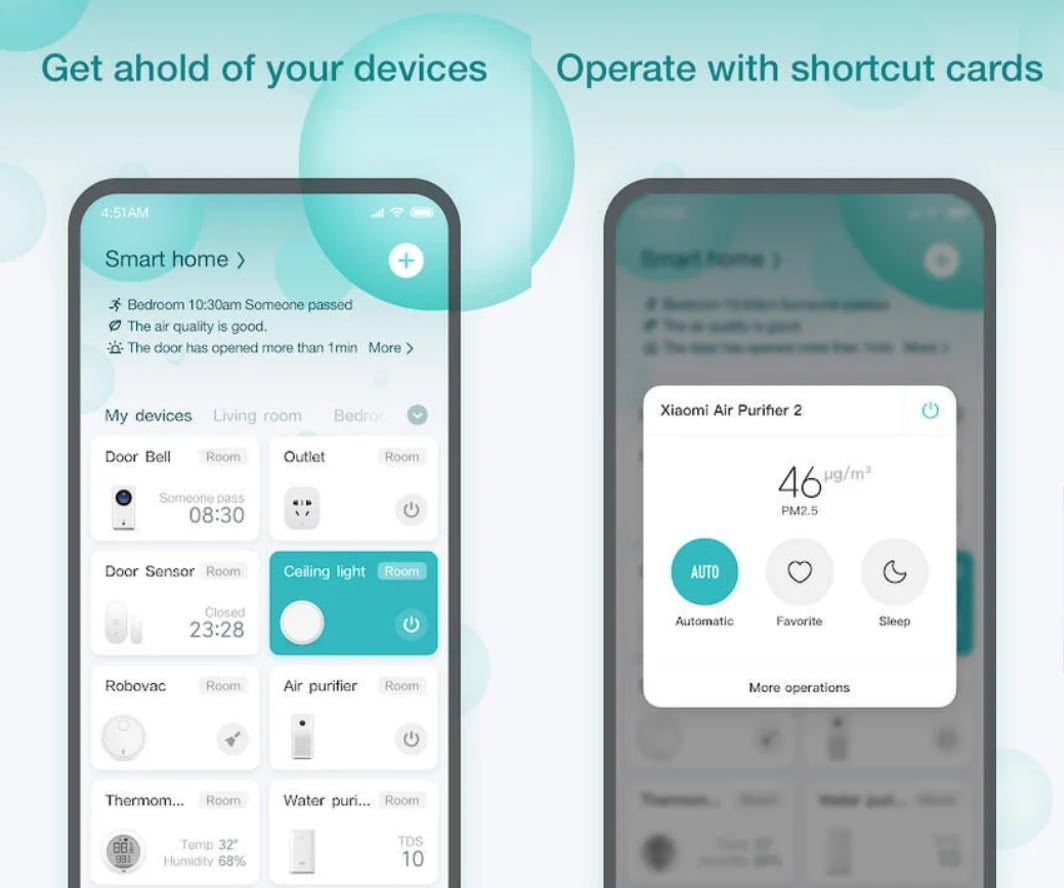 Xiaomi updates the interface of its home automation app: Mi Home