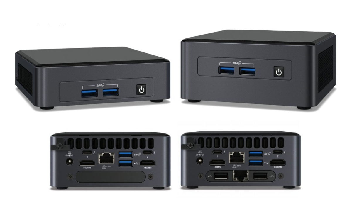 Intel NUC 11 mini PCs with Tiger Lake-U are now official