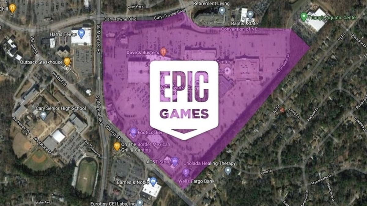 Epic Games bought a huge shopping mall to turn it into its new headquarters