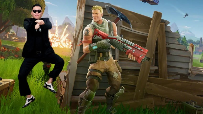 Fortnite adds Gangnam Style dance as an in game gesture