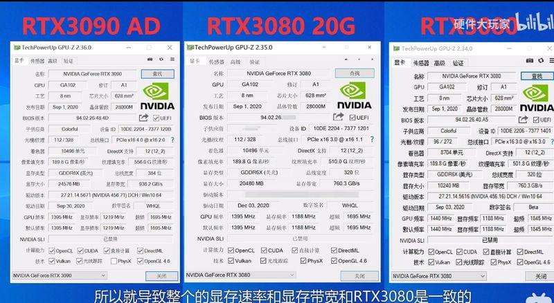 GeForce RTX 3080 Ti 20 GB specs are leaked and we can also talk about its price and relase date