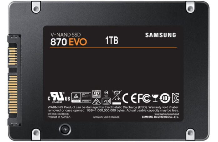 Samsung 870 Evo maximizes the potential of SATA SSD