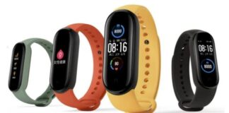 The first details of the Xiaomi Mi Band 6 appeared