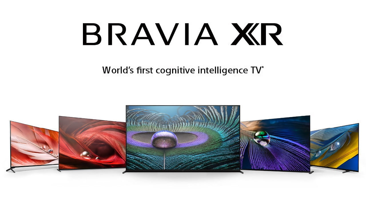 Sony today debuts new Bravia XR TVs with cognitive intelligence