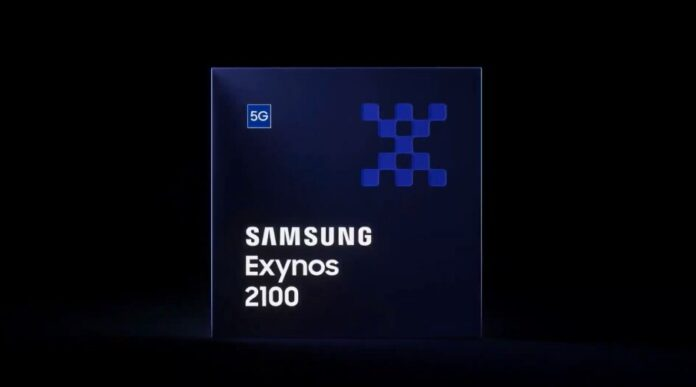 Samsung's new high-end processor Exynos 2100 is presented