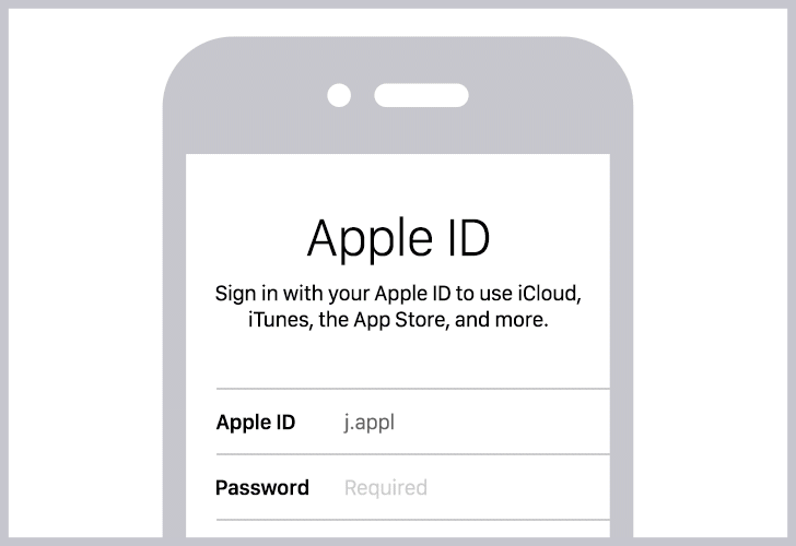 How to create a strong password for the Apple ID?