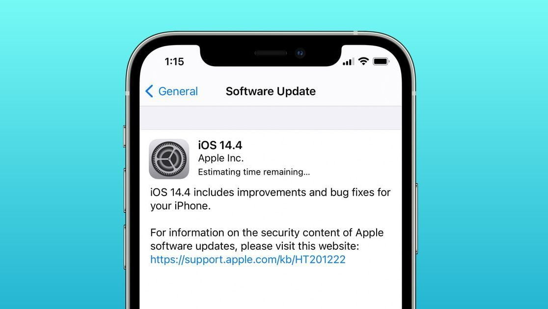 iOS 14.4 fixes three security flaws that Apple believes could have been exploited
