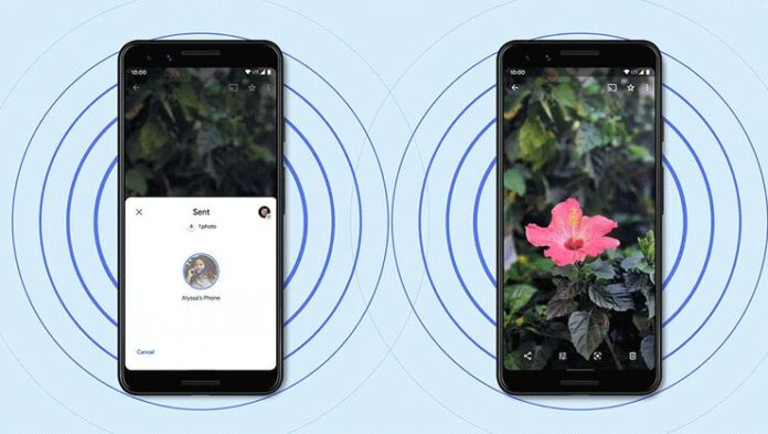Android 12 will make it possible to share the Wi-Fi password with Nearby Share