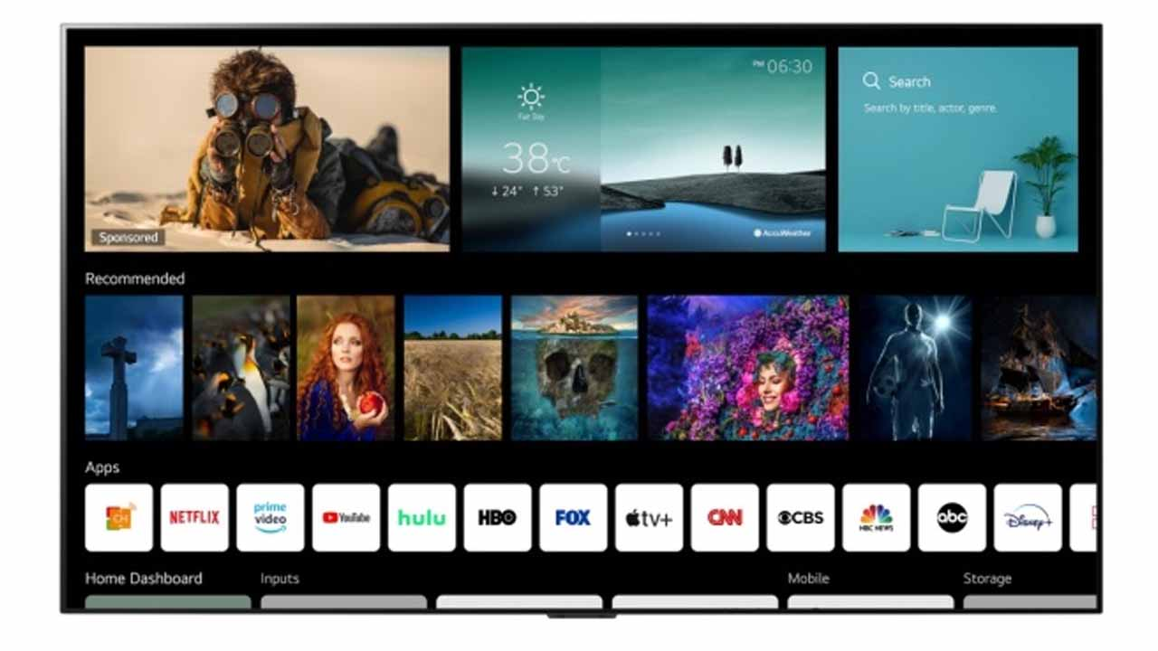 Meet webOS 6.0: This is the new interface of LG Smart TVs