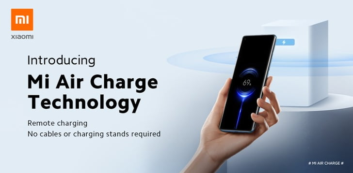 Xiaomi presents Mi Air Charge, it is a remote wireless charging technology.