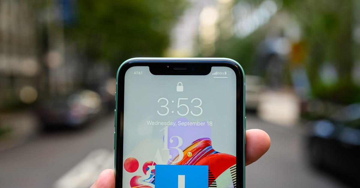Apple could remove the notch from iPhone 13