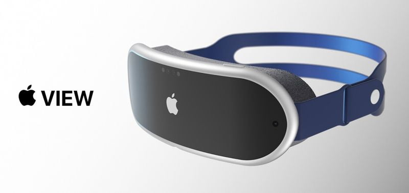 Apple Glass appears in a render based on everything we know about the upcoming augmented reality device