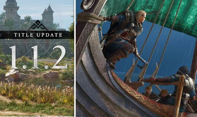Assassin's Creed Valhalla released 1.1.2 update Adds river looting mode