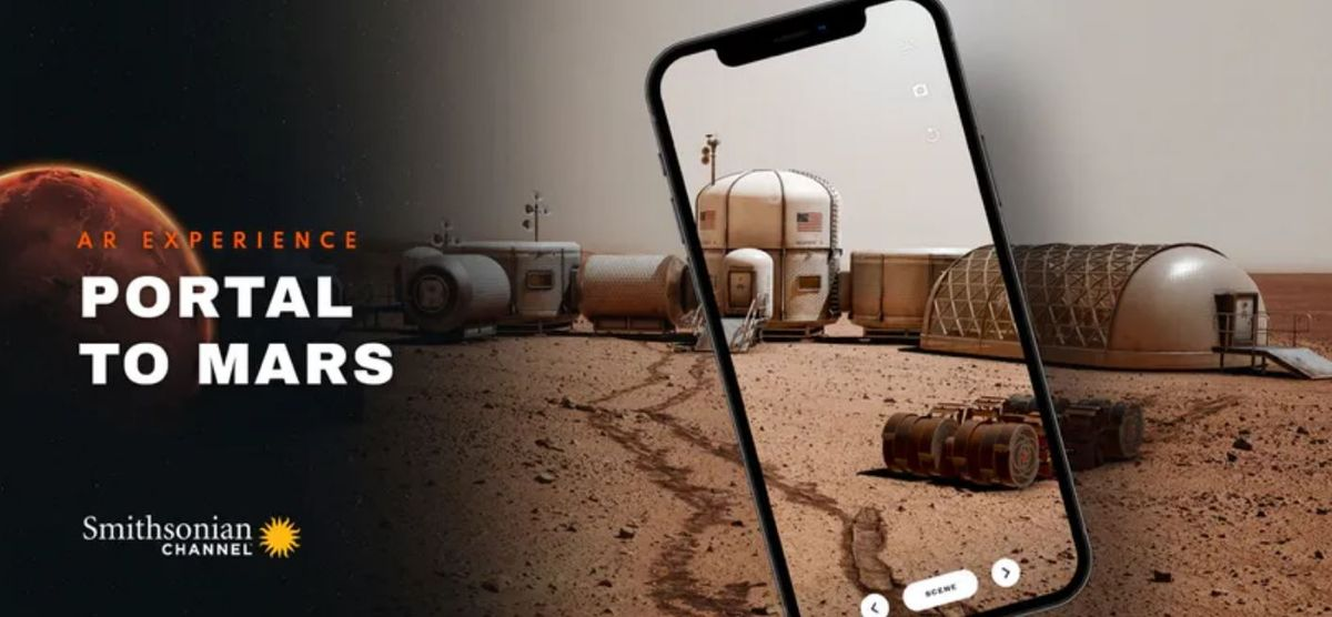 Drive the Mars AR rovers with Augmented Reality
