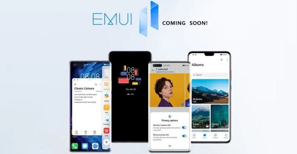 EMUI 11 coming to Huawei Mate 20 next month