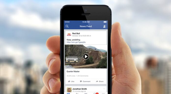 Facebook is testing changes to the content shared in the News Feed