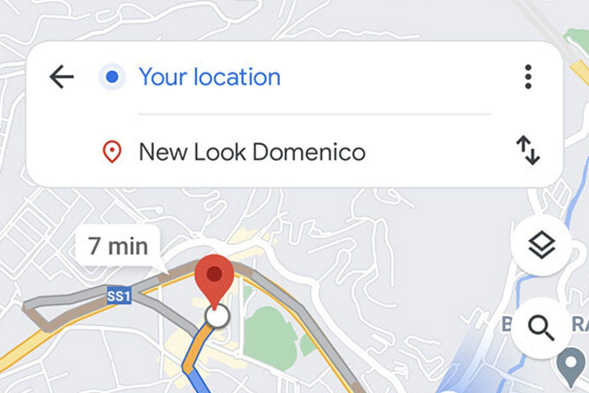 Google Maps tests a new minimalist design for routes