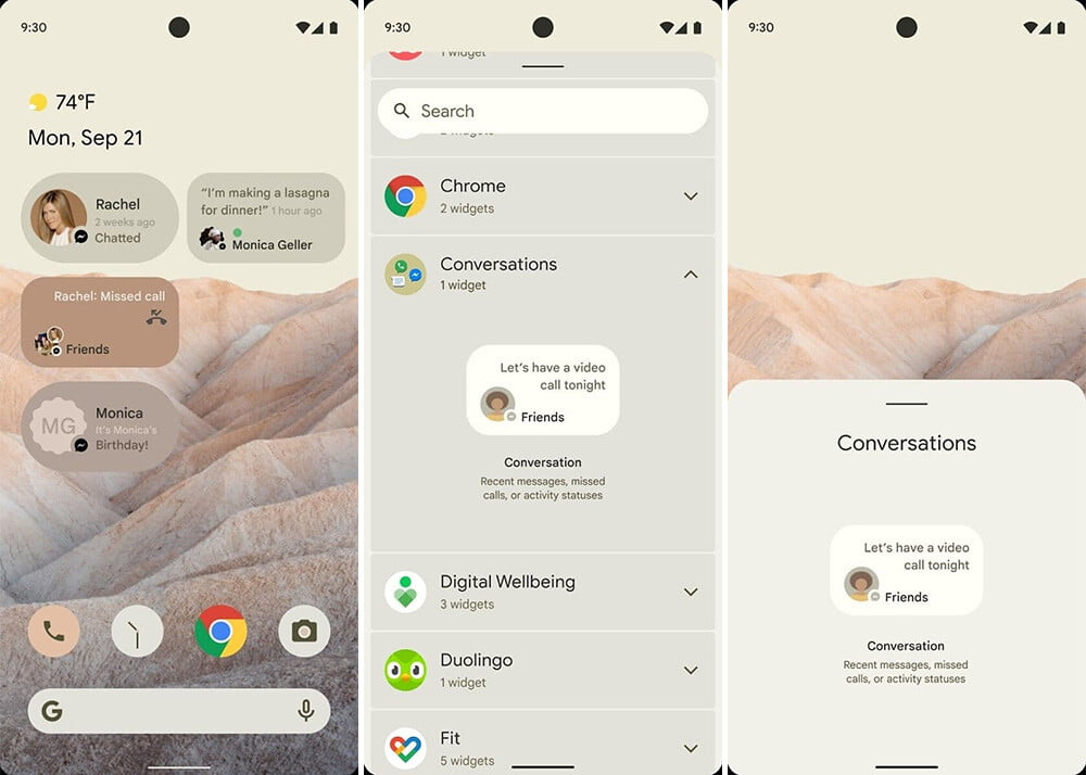 Here's what the radical design change of Android 12 will look like