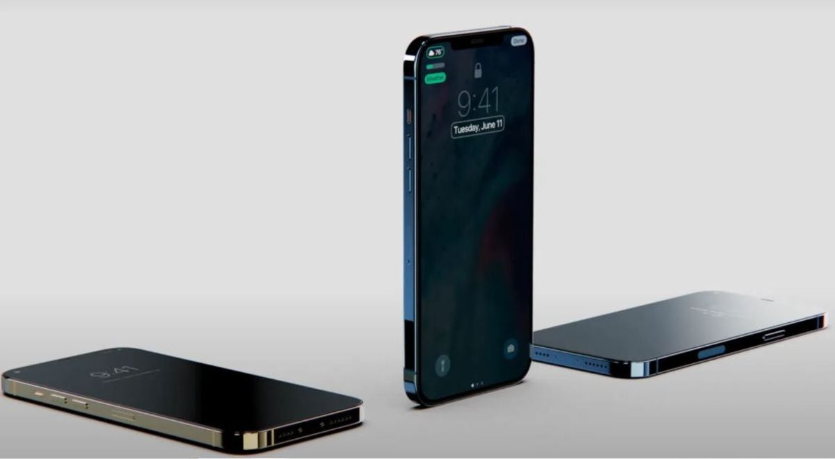 Heres what we could have on the always on display of an iPhone 13