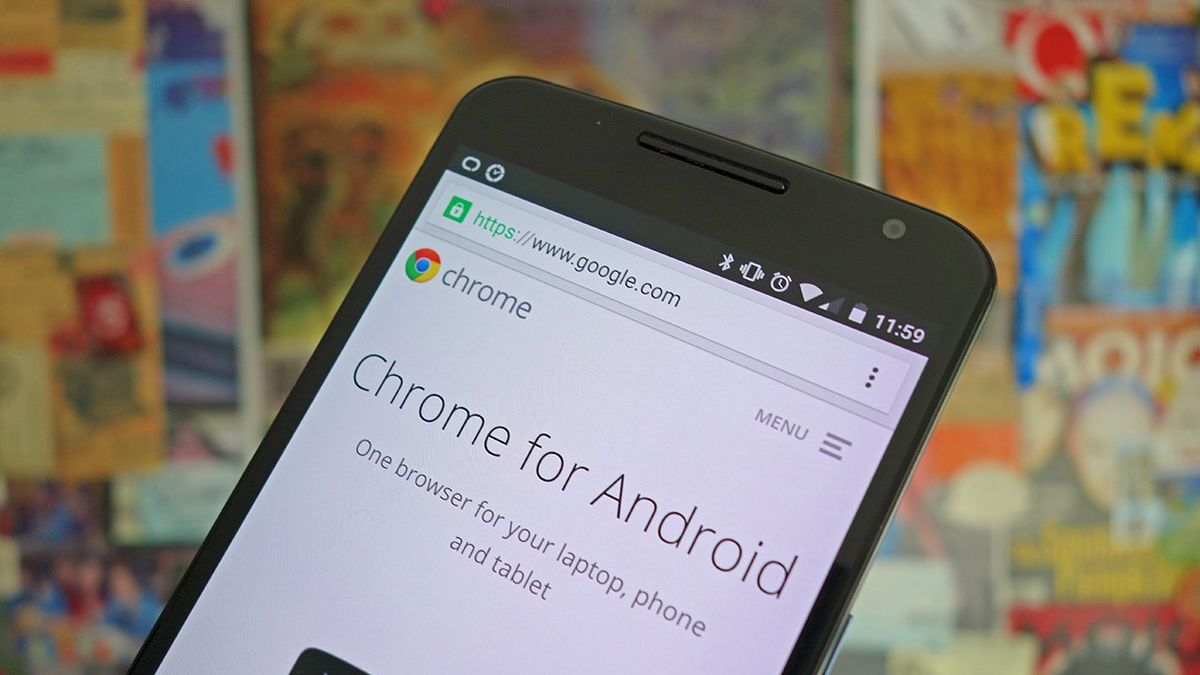 How to do a security check-in Chrome for Android?
