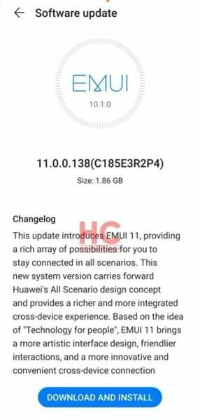 Huawei Mate 20 receives the final version of EMUI 11