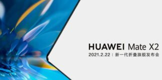 Huawei Mate X2 unveils its first official teaser, featuring a Samsung-like folding factor
