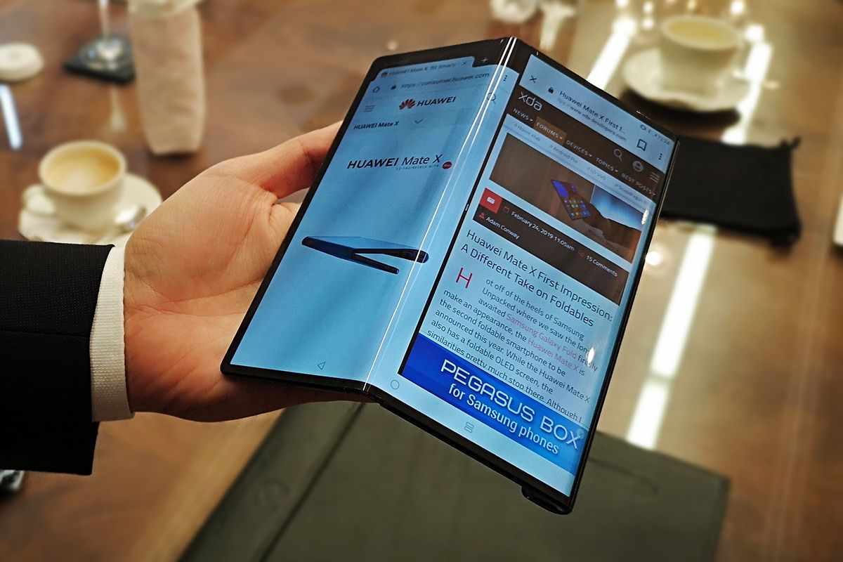 Huawei's first foldable smartphone Mate X2 arrives on February 22nd