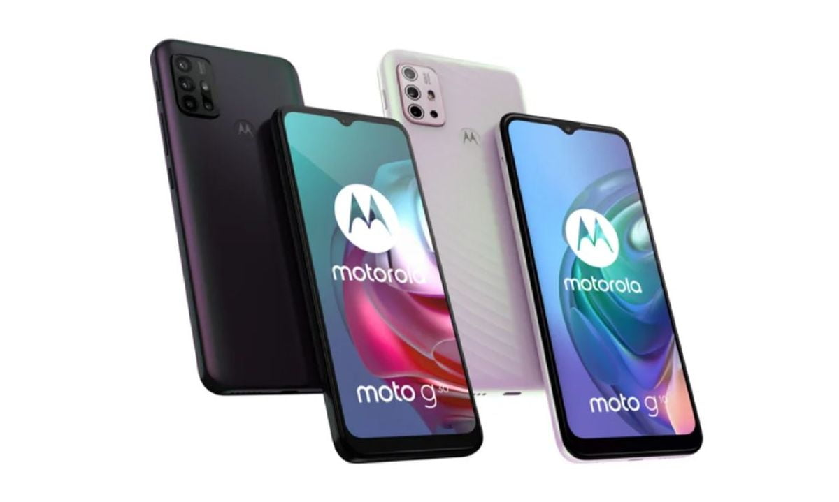 New Moto G10 and Moto G30 New design and big batteries