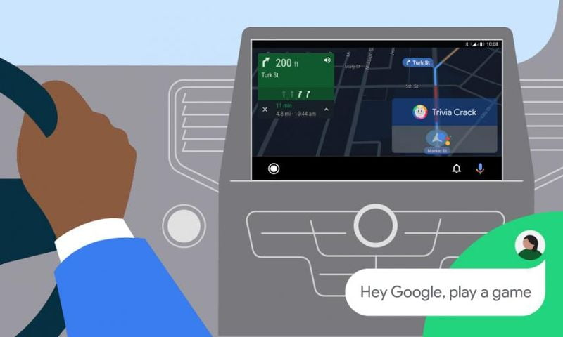 Now Android Auto brings you video games to enjoy on long journeys