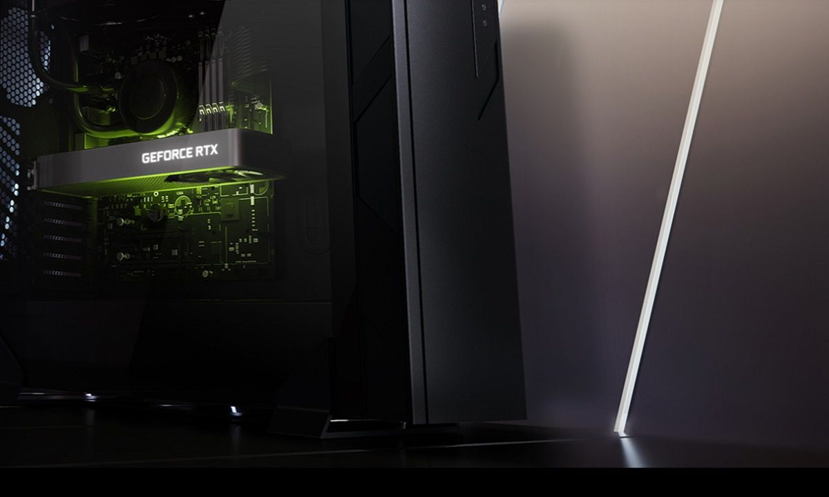 The GeForce RTX 3060 performs almost as well as an RTX 2070