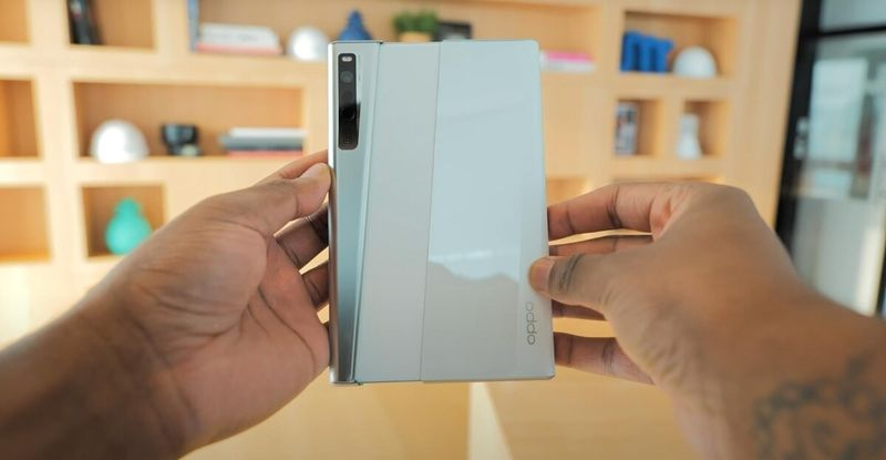 The first real videos of Oppo X 2021 rollable cell phone are spectacular