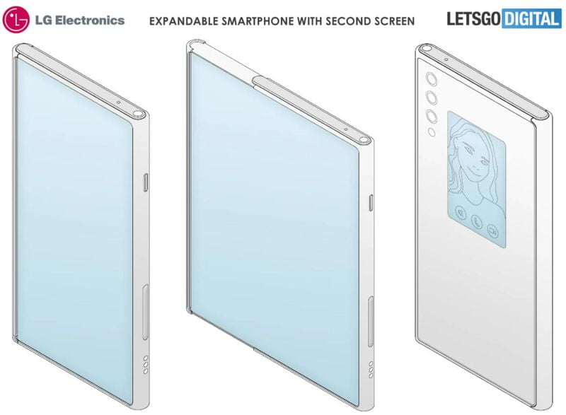 The spectacular LG Rollable will have a secondary display