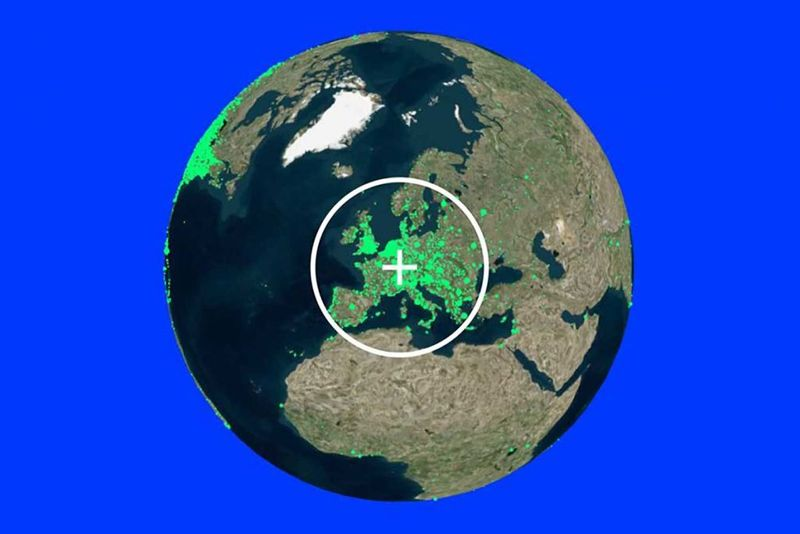 Radio. Garden: This map allows you to listen to live radio stations from all over the world for free