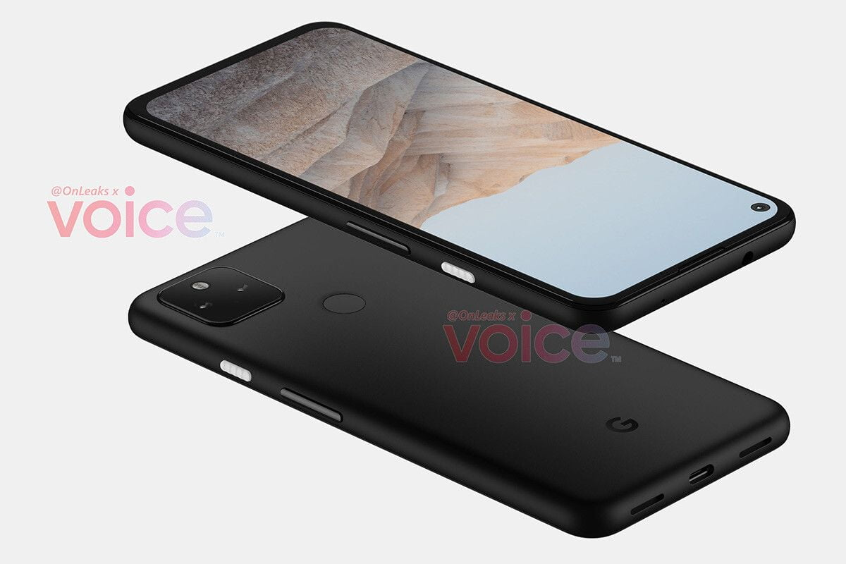 This will be the design of the Google Pixel 5a