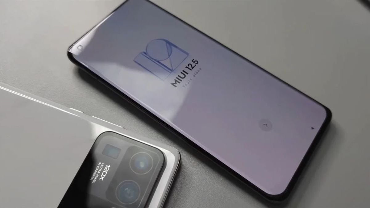This would be the Xiaomi Mi 11 Ultra, with 120x zoom and two screens