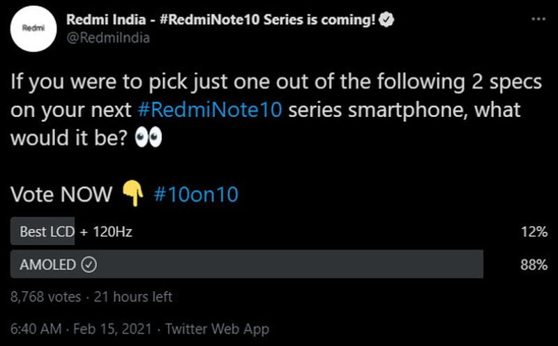 Xiaomi dates the official launch of the Redmi Note 10: It will arrive in March