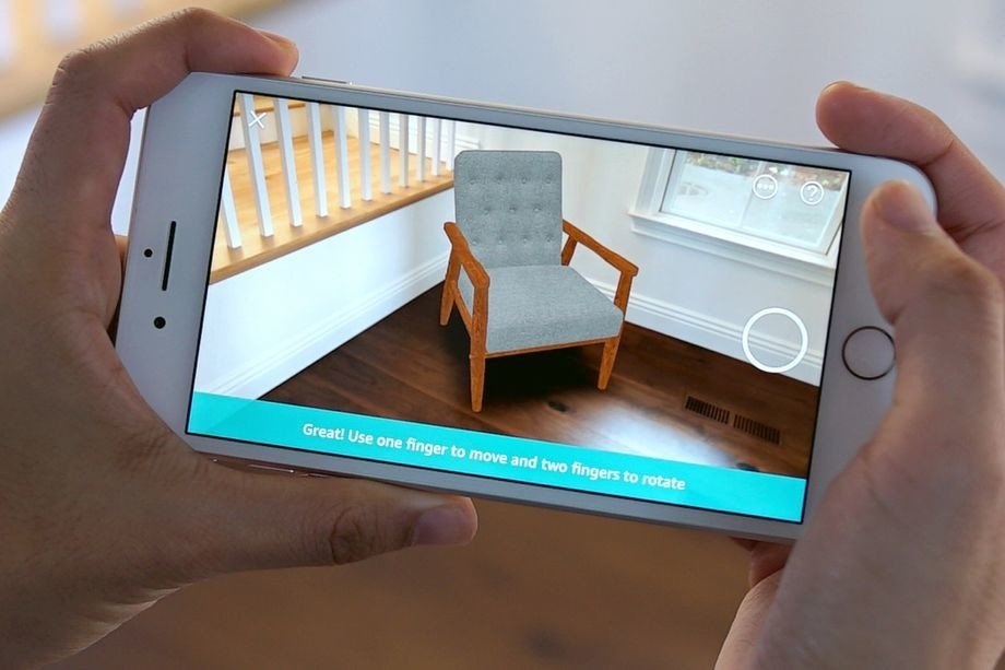Amazon wants to compete with IKEA by selling furniture using augmented reality